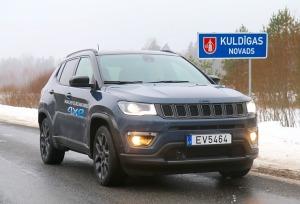 Travelnews.lv apceļo Latviju ar jauno «Jeep Compass 4xe» no oficiālā pārstāvja «Autobrava» 11