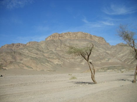 Krāsaina kalnu nogāze liecina par tuvošanos Krāsainajam kanjonam