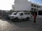 Safari sākas ar to, ka džipi atbrauc pēc Jums uz viesnīcu 1