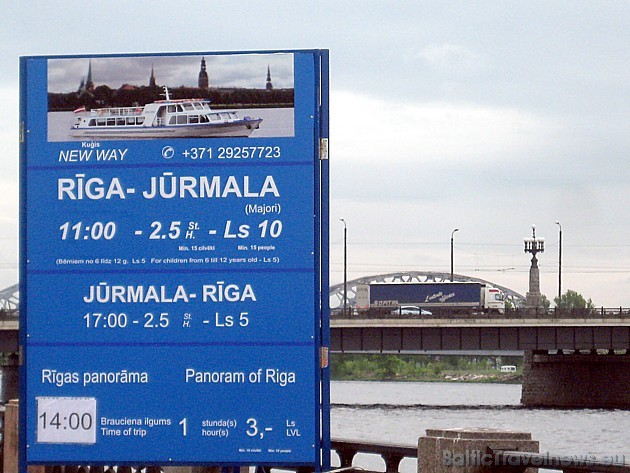 Atpūtai var izvēlēties gan braucienu uz Jūrmalu, gan arī Rīgas īpašo panorāmas braucienu