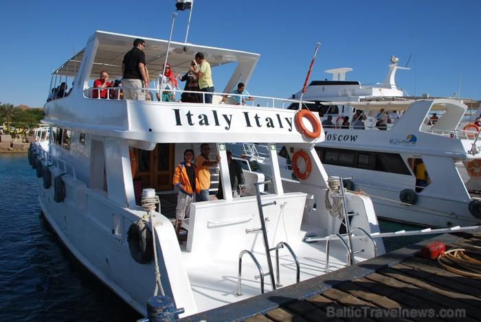 Jautrie itāļu kuģa kaimiņi - www.novatours.lv