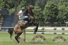 Sacensības jāšanas sportā šķēršļu pārvarēšanā pulcē kuplu dalībnieku skaitu 5