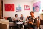 Viesnīcā «Radisson Blu Elizabete» atklāta Kristīnes Kutepovas mākslas darbu izstāde 5