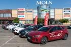 Konkursā «Latvijas Gada auto 2018» noritējis pirmais testa brauciens 3