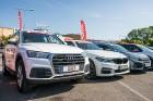 Konkursā «Latvijas Gada auto 2018» noritējis pirmais testa brauciens 7