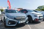 Konkursā «Latvijas Gada auto 2018» noritējis pirmais testa brauciens 8