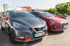 Konkursā «Latvijas Gada auto 2018» noritējis pirmais testa brauciens 9