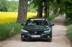 Konkursā «Latvijas Gada auto 2018» noritējis pirmais testa brauciens 18