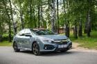 Konkursā «Latvijas Gada auto 2018» noritējis pirmais testa brauciens 19