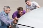 Konkursā «Latvijas Gada auto 2018» noritējis pirmais testa brauciens 27