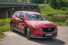 Konkursā «Latvijas Gada auto 2018» noritējis pirmais testa brauciens 31