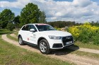 Konkursā «Latvijas Gada auto 2018» noritējis pirmais testa brauciens 34