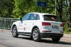 Konkursā «Latvijas Gada auto 2018» noritējis pirmais testa brauciens 35