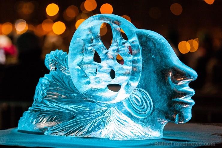Aizvadīts Starptautiskais Ledus skulptūru festivāls