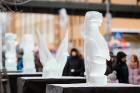 Aizvadīts Starptautiskais Ledus skulptūru festivāls 5