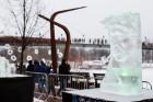 Aizvadīts Starptautiskais Ledus skulptūru festivāls 7