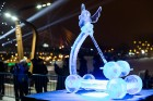 Aizvadīts Starptautiskais Ledus skulptūru festivāls 26