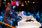 Aizvadīts Starptautiskais Ledus skulptūru festivāls 28