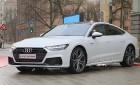 Latvijas Nacionālais mākslas muzejā jaunais «Audi A7 Sportback» prezentējas ar labāko šampanieti 2