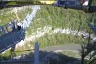Travelnews.lv pārvar bailes no augstuma unikālajā Soču «Skypark». Atbalsta: Rosa Khutor 12