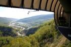 Travelnews.lv pārvar bailes no augstuma unikālajā Soču «Skypark». Atbalsta: Rosa Khutor 14