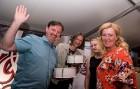 Kaislīgākos hokeja fanus, kā ik gadu, pulcē Hokeja fanu māja pie «Islande Hotel» 13