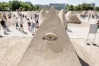Jelgavā  aizvadīts jau 12. Starptautiskais smilšu skulptūru festivāls 18