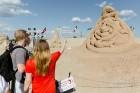 Jelgavā  aizvadīts jau 12. Starptautiskais smilšu skulptūru festivāls 28