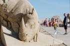 Jelgavā  aizvadīts jau 12. Starptautiskais smilšu skulptūru festivāls 34