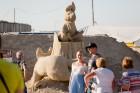 Jelgavā  aizvadīts jau 12. Starptautiskais smilšu skulptūru festivāls 41