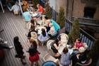 «Pullman Riga Old Town» viesnīcā ar ballīti atklāta skaistā jumta terase 13