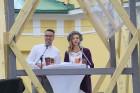 Dziesmu un deju svētku atklāšanas gājiens pulcē Rīgā visus Latvijas novadus (701-800) 6