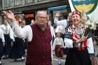 Dziesmu un deju svētku atklāšanas gājiens pulcē Rīgā visus Latvijas novadus (701-800) 14