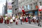 Dziesmu un deju svētku atklāšanas gājiens pulcē Rīgā visus Latvijas novadus (701-800) 25