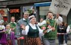 Dziesmu un deju svētku atklāšanas gājiens pulcē Rīgā visus Latvijas novadus (701-800) 45