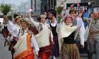 Dziesmu un deju svētku atklāšanas gājiens pulcē Rīgā visus Latvijas novadus (701-800) 46