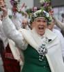 Dziesmu un deju svētku atklāšanas gājiens pulcē Rīgā visus Latvijas novadus (701-800) 51