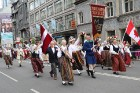 Dziesmu un deju svētku atklāšanas gājiens pulcē Rīgā visus Latvijas novadus (701-800) 53