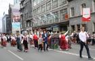 Dziesmu un deju svētku atklāšanas gājiens pulcē Rīgā visus Latvijas novadus (701-800) 55