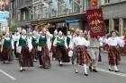 Dziesmu un deju svētku atklāšanas gājiens pulcē Rīgā visus Latvijas novadus (701-800) 58
