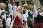 Dziesmu un deju svētku atklāšanas gājiens pulcē Rīgā visus Latvijas novadus (701-800) 59