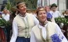 Dziesmu un deju svētku atklāšanas gājiens pulcē Rīgā visus Latvijas novadus (701-800) 63