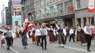 Dziesmu un deju svētku atklāšanas gājiens pulcē Rīgā visus Latvijas novadus (701-800) 91