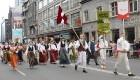 Dziesmu un deju svētku atklāšanas gājiens pulcē Rīgā visus Latvijas novadus (701-800) 95