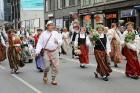 Dziesmu un deju svētku atklāšanas gājiens pulcē Rīgā visus Latvijas novadus (701-800) 98
