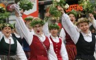 Dziesmu un deju svētku atklāšanas gājiens pulcē Rīgā visus Latvijas novadus (801-845) 36