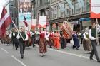 Dziesmu un deju svētku atklāšanas gājiens pulcē Rīgā visus Latvijas novadus (801-845) 38