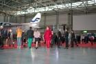 Somijas lidsabiedrība «Finnair» Helsinkos prezentē savu jauno filmu 13