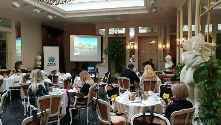Tūroperators «Tez Tour Latvia» 5 zvaigžņu viesnīcā «Grand Palace Hotel» prezentē Kataloniju kā iekārojamu ceļojumu galamērķi visos gadalaikos