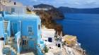 Santorini ir viens no iecienītākajiem romantiķu galamērķiem, kas vilina ar  pārsteidzošām panorāmām, romantiskiem saulrietiem un vulkānisko smilšu plu 5